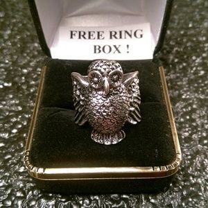 Other - Tibet Silver Ring -Hoot Owl-Size 6